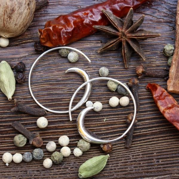 b90646c31583 Pendientes de plata para mujer - gatagata